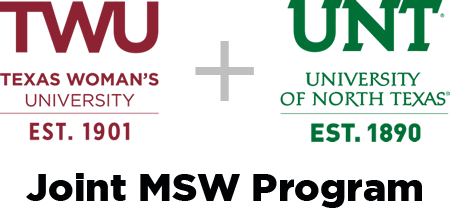 TWU UNT Joint MSW Program logo